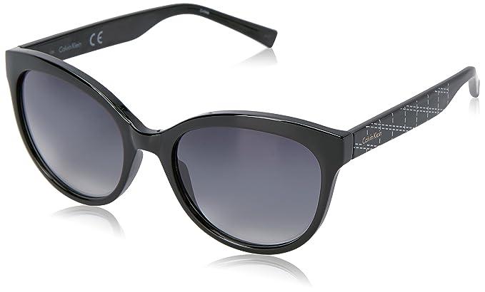 Amazon.com: Calvin Klein r735s Ronda anteojos de sol de la ...