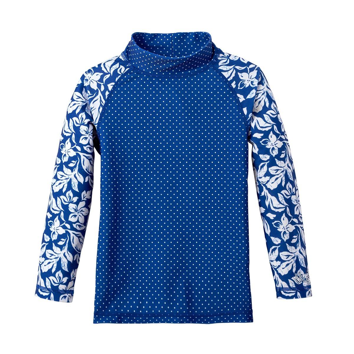 UV Skinz UPF 50+ Girls Long Sleeve Sun & Swim Shirt