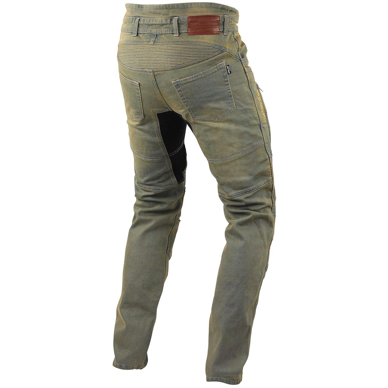 taglia 44/lungo colore Nero Trilobite motorcycle uomini jeans