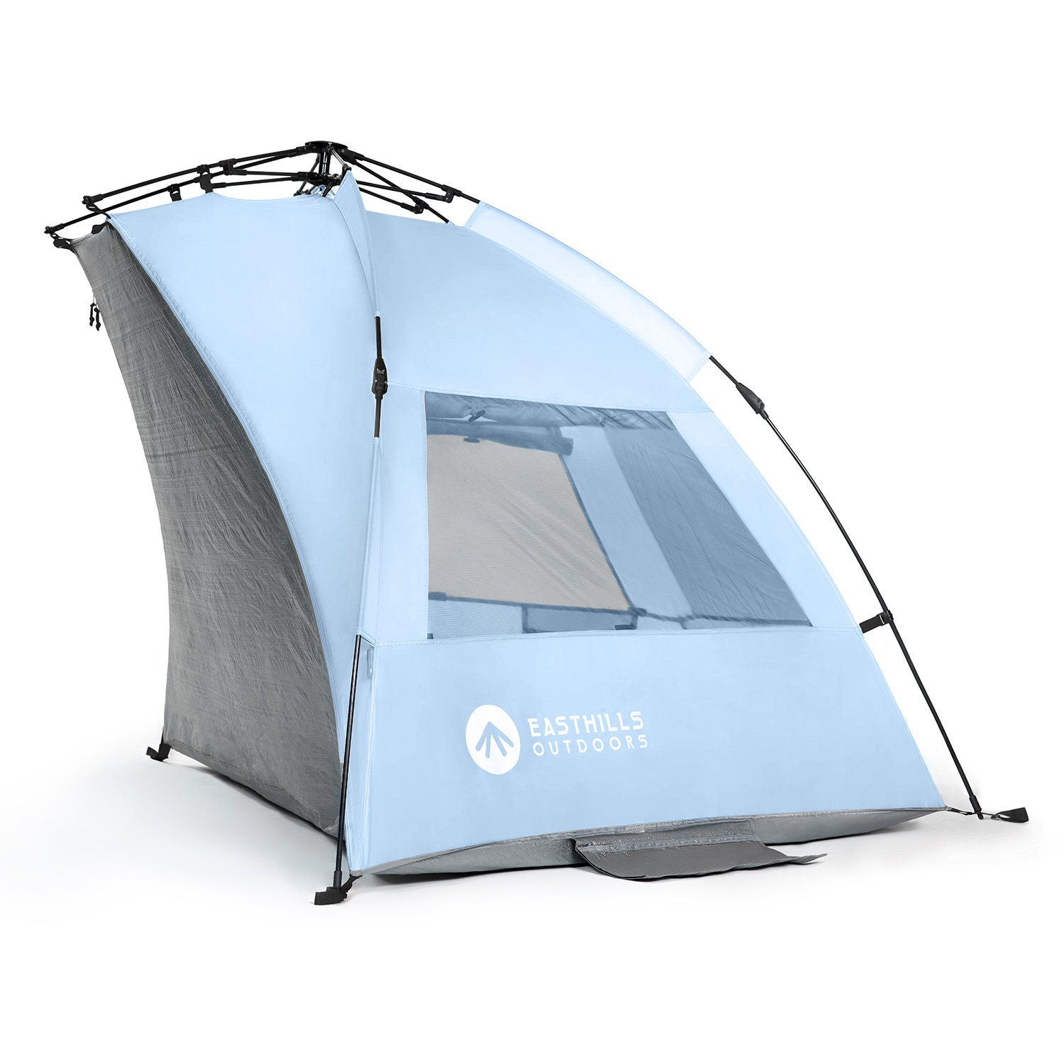 Extended Zippered Porch Included Easthills Outdoors Instant Shader Extended Easy Up Beach Tent Sun Shelter