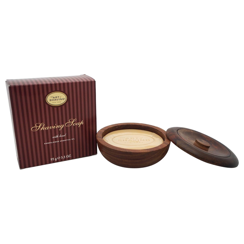 Shaving Soap w/Bowl - Sandalwood Essential Oil (For All Skin Types) 95g/3.4oz B001E6OUL4