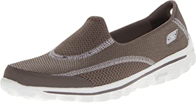 3f1ea13c0b44f Skechers Go Walk 2 Spark Women's Walking Shoes - Brown (Taupe), 3 UK