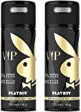 Playboy VIP Deo Body Spray Mann, 2er Pack (2 x 150 ml)