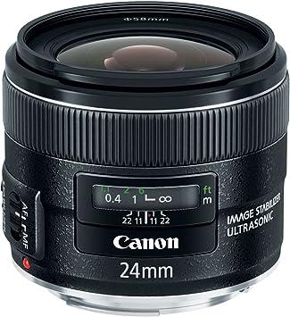 Gadget Career 58mm Neutral Density ND2 Filter for Canon EF 24mm f//2.8 IS USM 28mm f//2.8 IS USM