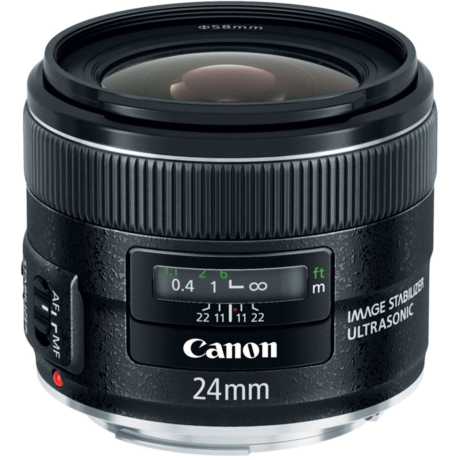 amazon com canon ef 24mm f 2 8 is usm wide angle lens fixed rh amazon com Canon Zoom Lens super 500mm/1000mm f/8 manual telephoto lens for canon eos