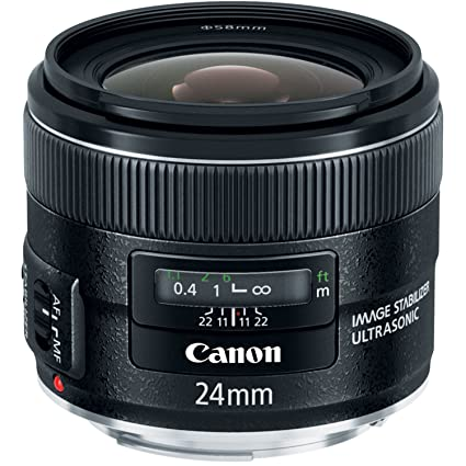 559957184f Amazon.com   Canon EF 24mm f 2.8 IS USM Wide Angle Lens - Fixed ...