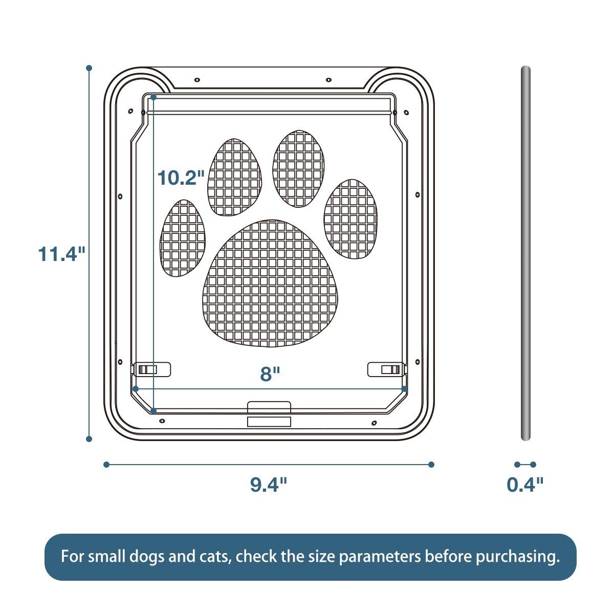Namsan Cat Door For Window Dog Screen Doggie Vmi Wiring Diagram Pet Supplies