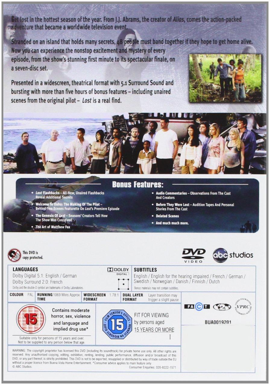 Lost - Seasons 1 - 6 [Import anglais]: DVD & Blu-ray : Amazon fr