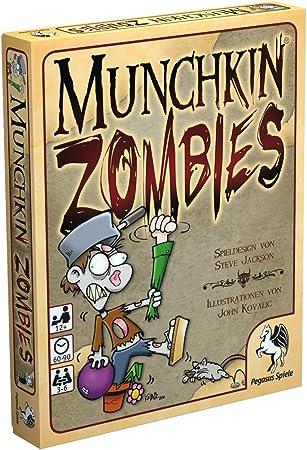 Pegasus 17135G Munchkin Zombies - Juego de Cartas (edición Alemana ...