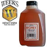 48oz (3lb) - Orange Blossom Honey - Pure, Raw, Unfiltered, Unheated