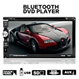 lling (TM) Doppel DIN HD in Auto Stereo DVD-Player Radio Video-Audio Bluetooth 17,7 cm Touchscreen SD, USB, Radio, FM Unterstützung mit Fernbedienung