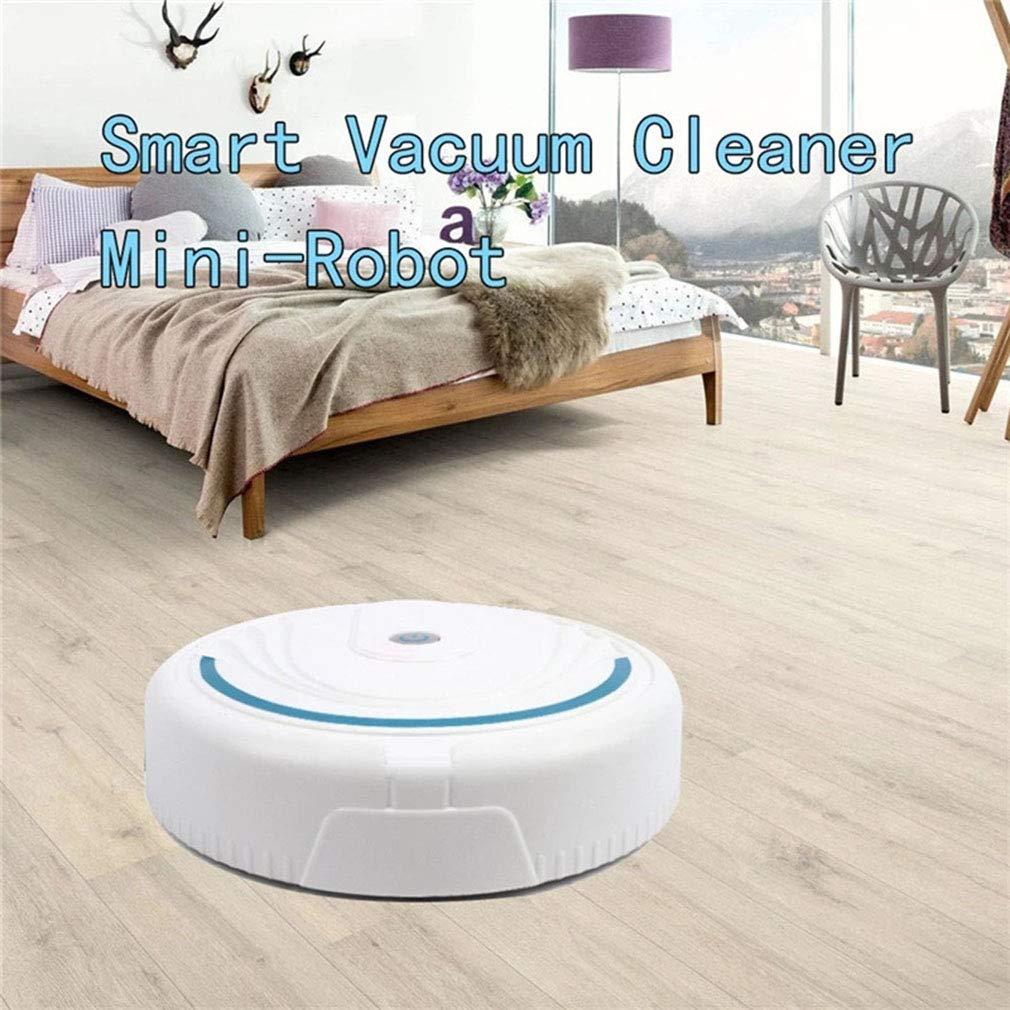 QAIYXM Rechargeable Auto Cleaning Robot Smart Sweeping Robot Floor Dirt Dust Vacuum Cleaner Auto Floor Cleaning Sweeping Sweeper
