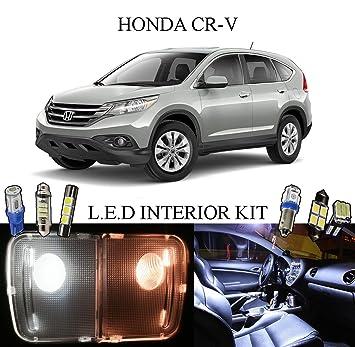 2013   2015 Honda CR V Xenon White LED Interior Package + Vanity Lights (