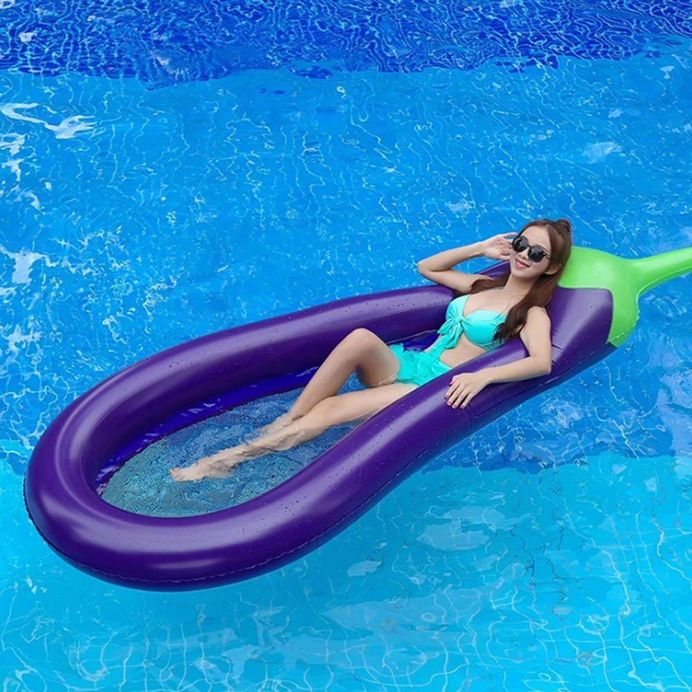 YOSPOSS - Balancín hinchable para piscina, flotador ...