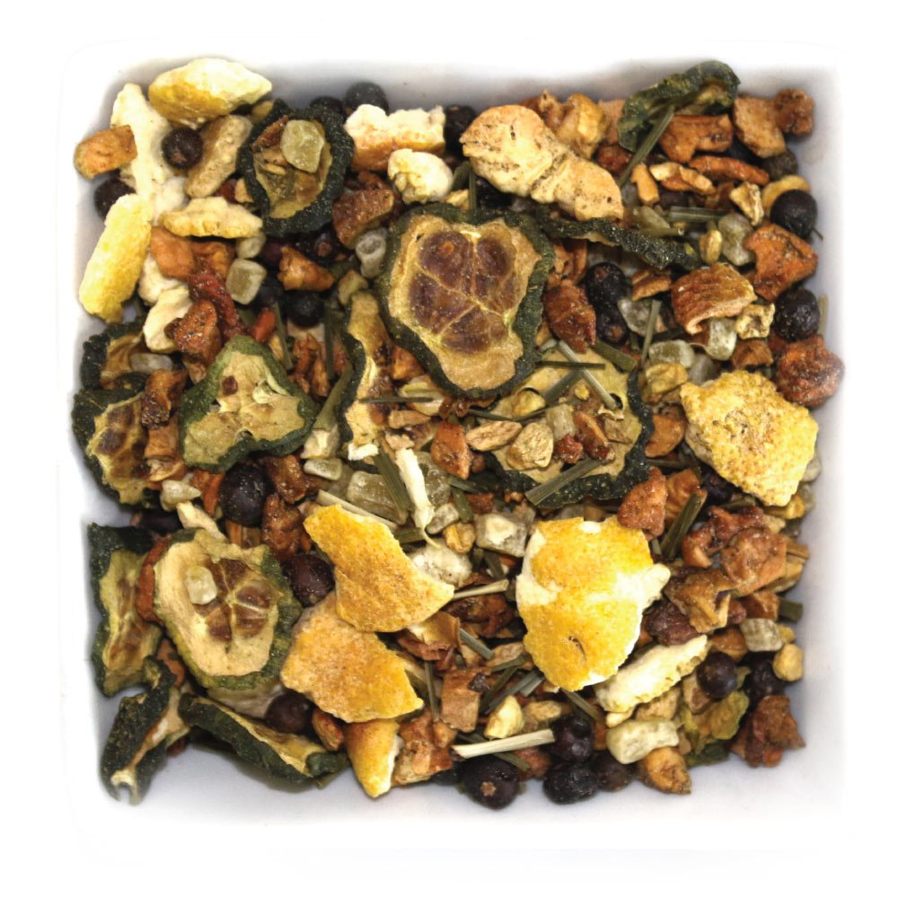 Tealyra - Cucumber Lemon Spa - Ginger - Lemongrass - Detox - Digest Wellness Loose Leaf Tea - No Caffeine - 112g (4-ounce)