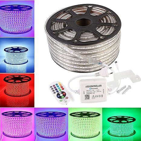 5M-30M LED Stripe RGB Leiste Streifen 5050 SMD Band Wasserdicht Lichterkette 24V