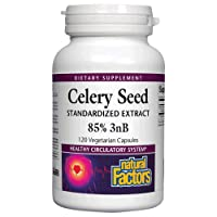 Celery Seed Extract by Natural Factors, Herbal Supplement for a Healthy Circulatory...