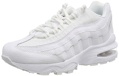 Nike Unisex Kinder Air Max 95 (GS) Sneaker Weiß (White Pure