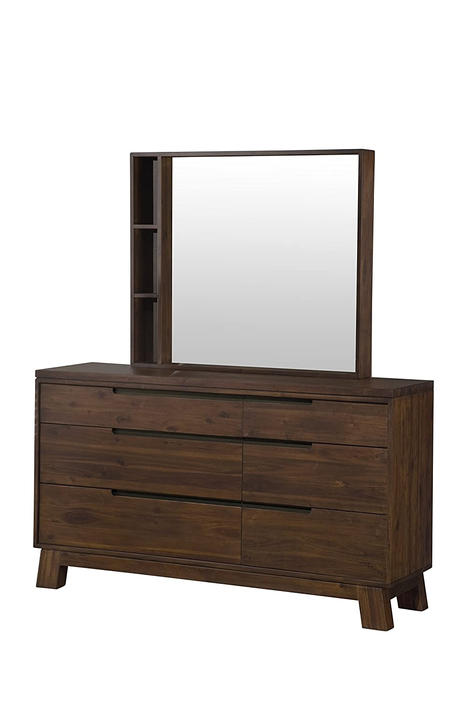 Amazon.com: Modus Furniture 7Z4882 Portland Solid Wood Dresser, Walnut:  Kitchen U0026 Dining