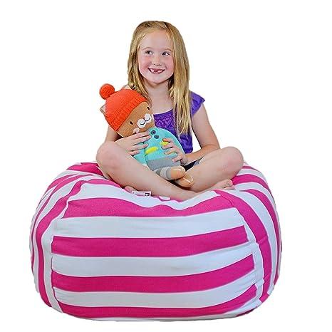 Etonnant Creative QT Extra Large Stuff U0027n Sit   Stuffed Animal Storage Bean Bag Chair  For