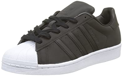 adidas Superstar, Baskets Femme, Noir Core Black/Footwear White, 36 EU