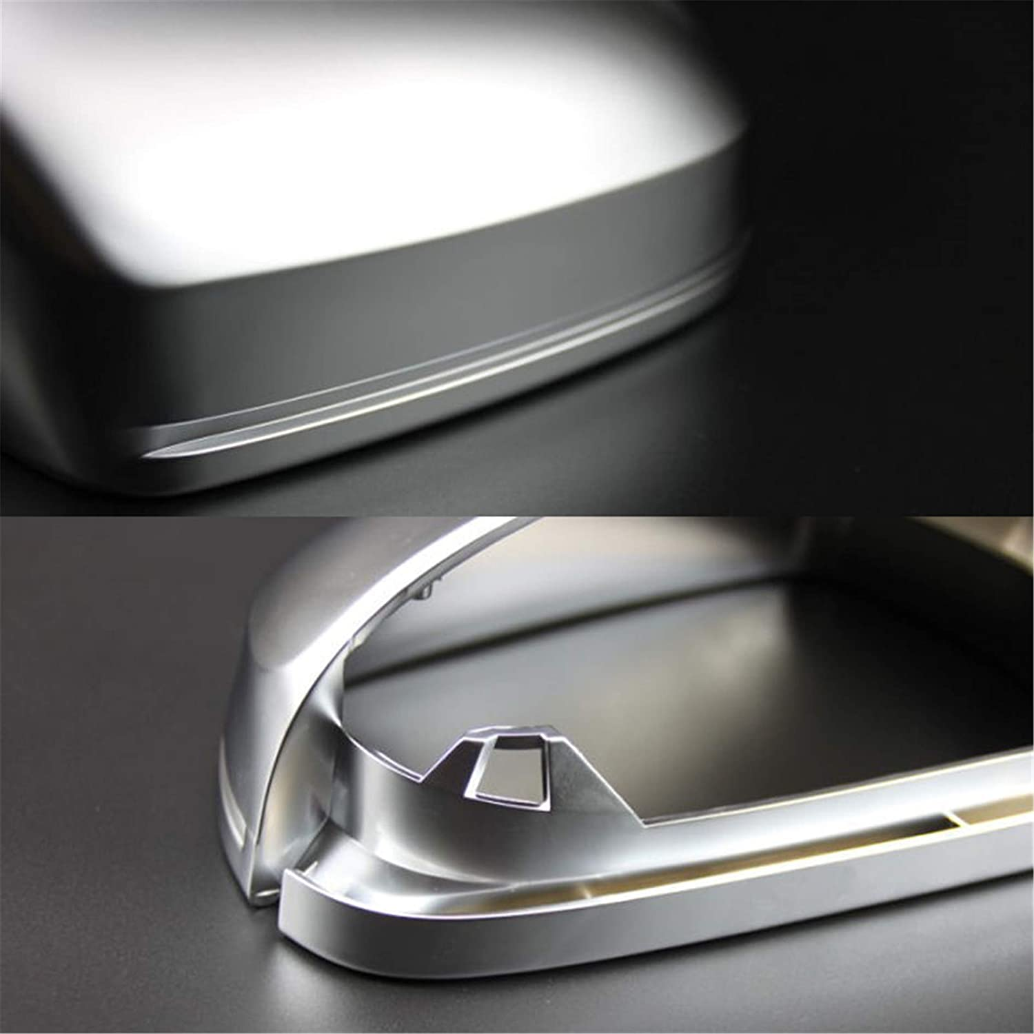 A5 S5 B8 BFD b8.5 2010-2015 BF630 HDX Side Wing ABS Chrome Rear View Mirror Replacement Cover Cap for Audi Sline Quattro