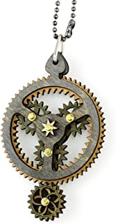 product image for Green Tree Jewelry Kinetic Planetary Gear Pendant 6003F