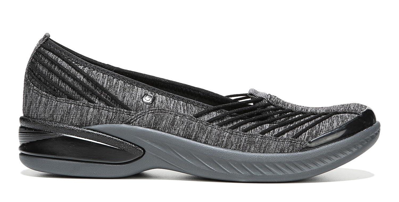 Naturalizer BZees Women's Nurture Slip-On Sneaker, Black/Grey 6.5 W US