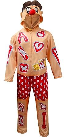 Operation Cavity Sam Graphic 1 Piece Union Suit - Medium