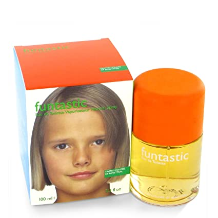 Agua de colonia benetton funtastic girl con vaporizador 100ml