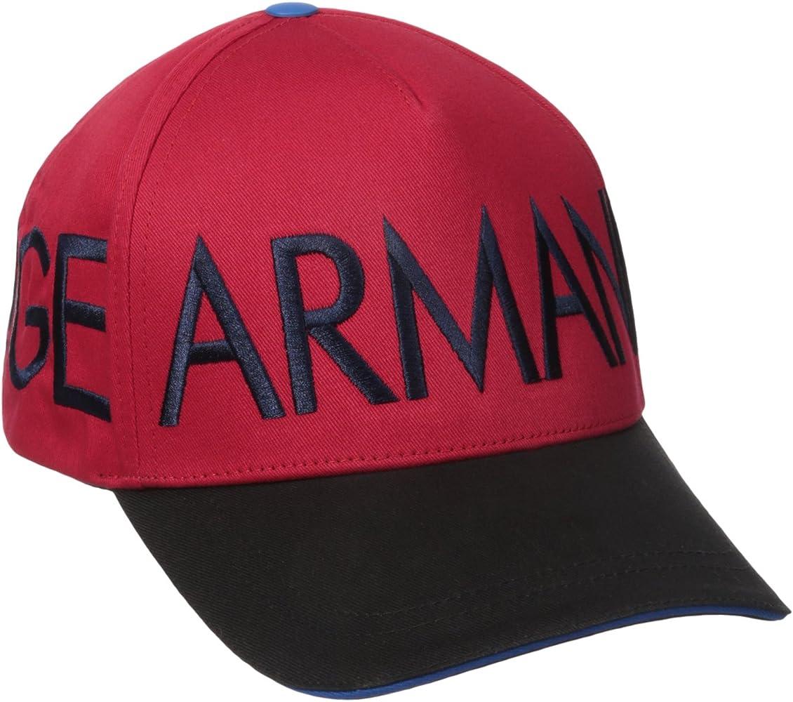 Armani Exchange -Gorra de béisbol Hombre rojo Absolute Red Talla ...
