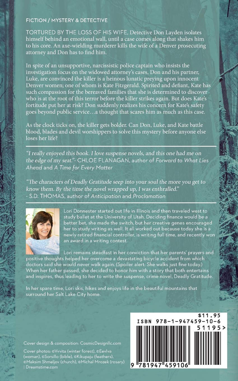 Deadly Gratitude: Lori Donnester: 9781947459106: Amazon com: Books
