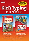 Kid's Typing Bundle: Mickey's Typing Adventure with Typing Instructor for Kids Platinum 5 [Online Code]