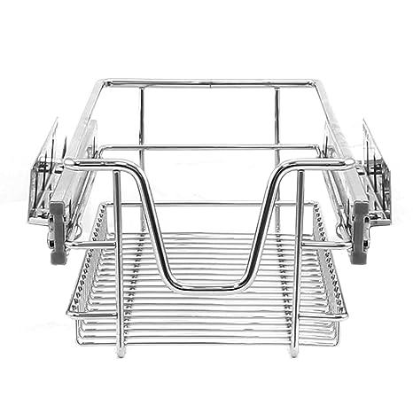 KuKoo Cestas Muebles de Cocina, deslizantes, Cierre Suave, para armarios de 300 mm