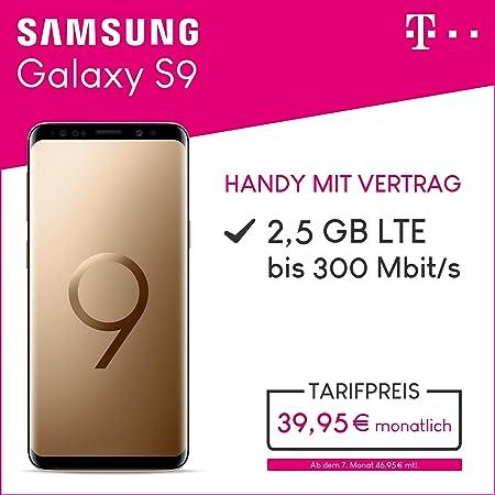 Samsung Galaxy S9 64gb Speicher Handy Mit Vertrag Amazonde Elektronik
