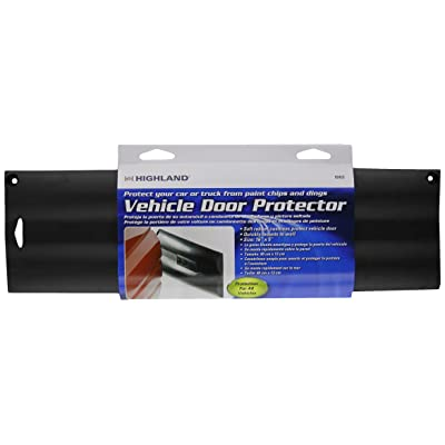 Highland 9242300 Black Vehicle Door Protector: Automotive