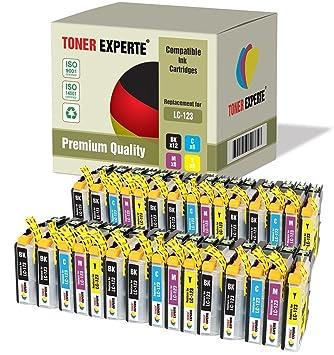 Pack de 30 XL TONER EXPERTE® Compatibles LC123 Cartuchos de Tinta ...