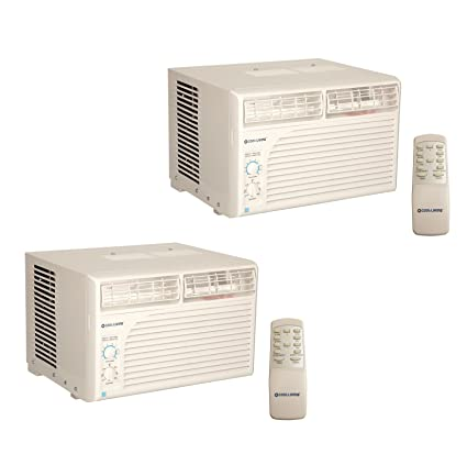 Cool Living 6,000 BTU Energy Star Efficient Window Mount Room Air  Conditioner, 2