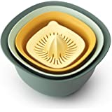 Brabantia 122262 Tasty+ Mixing Bowl Set (Set of 4)