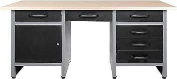 Banco de trabajo para taller, banco de montaje, mesa de taller ...