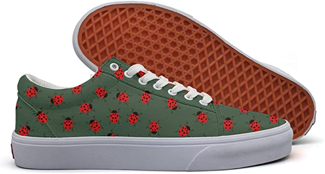Siamese cat Flower Cactus Womans Skateboard Casual Shoes Print Running Shoes
