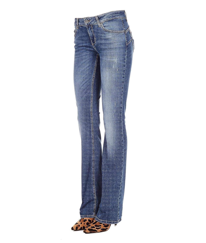 Liu Jo Women's U68032D425577590 bluee Cotton Jeans