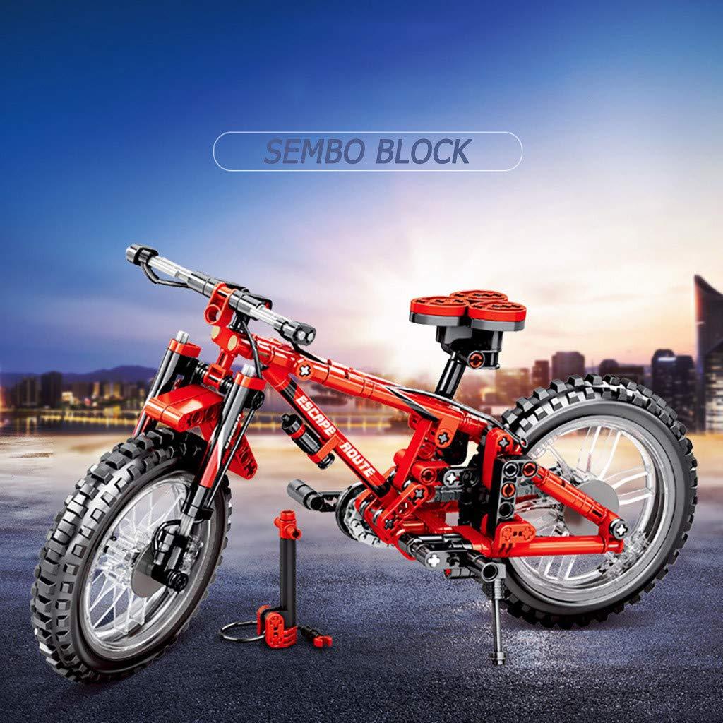 Anyren DIY Bicycle Building Blocks (306+pcs) Suitable for Children's Toys