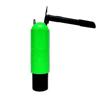 TUBOX4 presurizador de Bolas (Verde)+ Bomba de Aire: Amazon.es: Deportes y aire libre