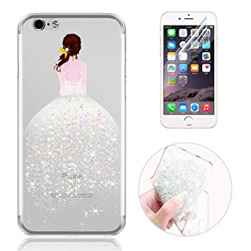 coque iphone 7 transparent argent
