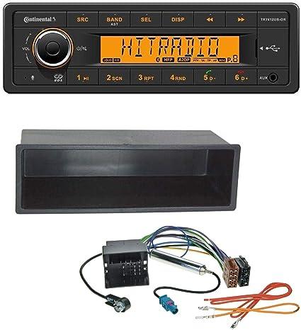 JVC AUX Bluetooth CD USB MP3 Autoradio für VW Polo Lupo Fox Passat T5