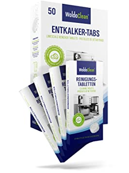 woldo Clean I pastillas de limpieza & entkalke rtabs I para cafeteras automáticas y máquinas de