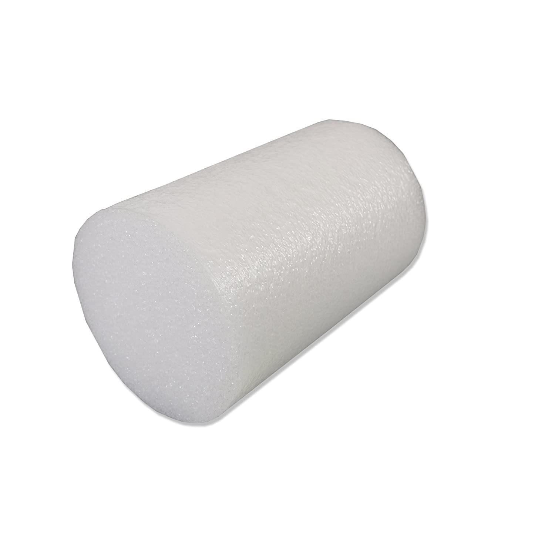 CanDo PE White Foam Roller Half Round 3 X 36 Slim Fabrication Enterprises 30-2116 3 X 36 Slim