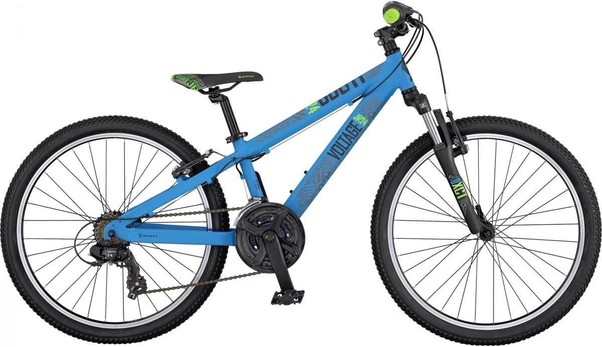 Montaña Scott Voltage Jr 24 azul, azul: Amazon.es: Deportes y aire ...