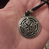 Pentacle de protection nœud celtic